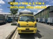 Bán Thaco Kia K250 tải trọng 2 tấn 5, nhận làm thùng và sơn màu theo yêu cầu giá 382 triệu tại Tp.HCM