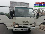 Xe tải ISUZU 3t49 thùng dài 4m4  hỗ trợ trả góp 85%. giá 500 triệu tại Bình Dương