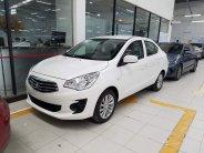 Cần bán Mitsubishi Attrage 1.2 MT Eco đời 2019, màu trắng, nhập khẩu nguyên chiếc giá 376 triệu tại Hà Nội