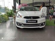 Xe Mitsubishi Mirage năm 2019, dán kính trải sàn giá 350 triệu tại Vĩnh Phúc