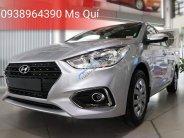 Hyundai Accent 1.4MT Base Bạc + trả trước 140 triệu+ Tặng quà 10 tr giá 430 triệu tại Tp.HCM