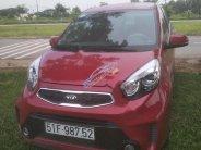 Cần bán Kia Morning Si AT sản xuất 2015, màu đỏ, đã sử dụng 195000 km giá 345 triệu tại Tp.HCM