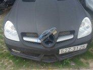 Cần bán xe Mercedes SLK 350 mui trần 2004, màu đen nhám giá 650 triệu tại Tp.HCM