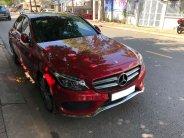 Mình bán Mercedes C300 AMG 2017, Full option màu đỏ lộc giá 1 tỷ 670 tr tại Tp.HCM