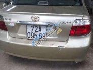 Bán Toyota Vios đời 2003, màu vàng, giá 190tr giá 190 triệu tại BR-Vũng Tàu