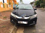 Cần bán xe Honda City đời 2015, màu đen chính chủ giá 450 triệu tại Thanh Hóa
