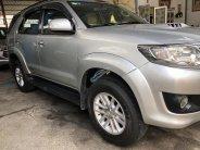 Cần bán Toyota Fortuner G 2014, màu bạc giá 720 triệu tại Tp.HCM