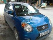 Gia đình bán Kia Morning đời 2008, màu xanh lam, nhập khẩu giá 220 triệu tại Hải Phòng