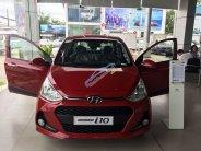 Bán Hyundai Grand i10 năm sản xuất 2019, màu đỏ, giá tốt giá 405 triệu tại Sóc Trăng