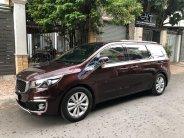 Cần bán Kia Sedona sản xuất 2016, màu đỏ xe gia đình giá 968 triệu tại Tp.HCM