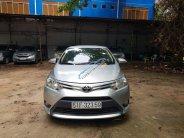 Bán xe Toyota Vios 1.5E năm 2015, màu bạc xe gia đình, 405 triệu giá 405 triệu tại Tp.HCM