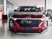 Hyundai Sante Fe màu đỏ giảm giá sock giá 1 tỷ 240 tr tại Tây Ninh