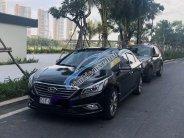 Bán Hyundai Sonata sản xuất 2015, màu đen đẹp như mới  giá 650 triệu tại Tp.HCM