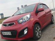 Bán Kia Morning sản xuất năm 2014, màu đỏ, bản đủ 4 máy 1.25 giá 236 triệu tại Hà Nội