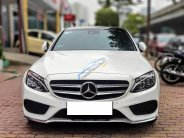 Bán Mercedes C250 AMG màu trắng/đỏ sản xuất 2015, biển Hà Nội giá 1 tỷ 290 tr tại Hà Nội