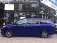Cần bán Toyota Sienna LE 2.7 đời 2010, màu xanh lam, xe nhập giá 1 tỷ 650 tr tại Tp.HCM