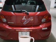 Cần bán Mitsubishi Mirage sản xuất 2017, màu đỏ, nhập khẩu nguyên chiếc như mới giá 400 triệu tại Tp.HCM