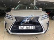 Bán Lexus RX350 Luxury sản xuất 2017, đăng ký 2018 màu vàng cát đẹp như mới giá 3 tỷ 670 tr tại Hà Nội