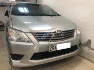 Bán Toyota Innova 2.0E năm sản xuất 2013, màu bạc xe gia đình giá 485 triệu tại Hà Nội