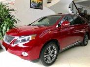 Bán Lexus RX 450h năm 2010, màu đỏ, nhập khẩu giá 1 tỷ 358 tr tại Hà Nội