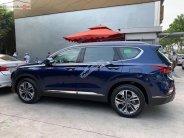 Bán Hyundai Santa Fe 2.4L HTRAC sản xuất 2019, màu xanh lam giá 1 tỷ 140 tr tại Tp.HCM