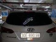Bán xe cũ Hyundai Santa Fe đời 2015, màu trắng giá 800 triệu tại Hà Nội