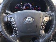 Cần bán lại xe Hyundai Santa Fe đời 2010, màu đen, nhập khẩu nguyên chiếc, xe gia đình giá 639 triệu tại Thái Bình