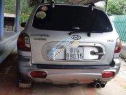 Bán Hyundai Santa Fe đời 2004, màu bạc, nhập khẩu nguyên chiếc, chính chủ giá 280 triệu tại Tp.HCM