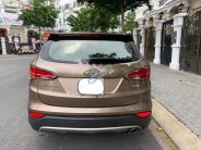 Bán xe Hyundai Santa Fe sản xuất năm 2015, màu nâu   giá 828 triệu tại Tp.HCM