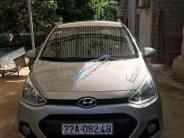 Bán xe Hyundai Grand i10 MT đời 2016, màu bạc, xe nhập giá 290 triệu tại Tuyên Quang
