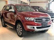 Cần bán xe Ford Everest Titanium 2.0L 4x2 sản xuất 2019, màu đỏ, nhập khẩu chính hãng giá 1 tỷ 177 tr tại Tp.HCM