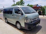 Bán Toyota Hiace đời 2010, máy dầu, màu xanh ngọc giá 370 triệu tại Quảng Ngãi