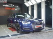 Cần bán lại xe Audi A4 năm sản xuất 2016, màu xanh lam, xe nhập chính hãng giá 1 tỷ 375 tr tại Tp.HCM