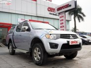 Bán xe cũ Mitsubishi Triton GL 4x4 MT sản xuất năm 2010, màu xám, xe nhập giá 237 triệu tại Hà Nội