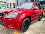 Bán Ford Escape XLS 2.3L 4x2 AT 2010, màu đỏ, xe ít sử dụng giá 410 triệu tại Tp.HCM