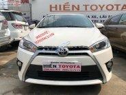Cần bán xe Toyota Yaris sản xuất 2017, màu trắng, nhập khẩu nguyên chiếc chính hãng giá 580 triệu tại Tp.HCM