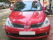 Cần bán xe Nissan Tiida AT đời 2007, màu đỏ, số tự động, 243tr giá 243 triệu tại Tp.HCM