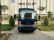 Bán xe JAC HFC N350 (3 tấn 49) - thùng bạt 4m3 - hỗ trợ trả góp 70% đời 2020, màu xanh lam giá cạnh tranh giá 437 triệu tại Tp.HCM