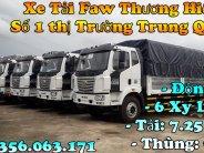 Xe tải 8 tấn Faw Thùng bạt 9m7 động cơ weichai 6 xy lanh  giá 310 triệu tại Tp.HCM