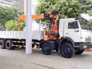 Xe tải Kamaz 6540 gắn cẩu dinex 8 tấn (8x4) giá 1 tỷ 950 tr tại Cần Thơ