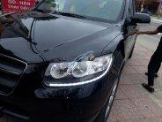 Bán Hyundai Santa Fe AT năm 2009, màu đen chính chủ giá 480 triệu tại Hà Tĩnh