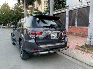 Cần bán lại xe Toyota Fortuner V sản xuất năm 2015, màu đen, giá tốt giá 645 triệu tại Tp.HCM