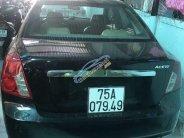 Cần bán lại xe Daewoo Lacetti đời 2008, màu đen giá 135 triệu tại TT - Huế