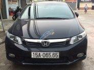 Cần bán Honda Civic năm 2012, màu đen chính chủ, 520tr giá 520 triệu tại Hải Phòng
