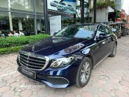 Xe Mercedes E200 2019 cũ màu Xanh Cavansite chạy lướt 6863 km bán giá tốt / 2 tỷ 069 triệu giá 2 tỷ 69 tr tại Hà Nội