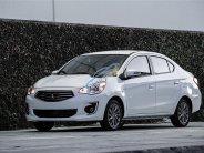 Cần bán gấp Mitsubishi Mirage MT năm sản xuất 2017, màu trắng số sàn giá 265 triệu tại Tp.HCM