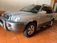 Bán Hyundai Santa Fe đời 2004, màu bạc, xe nhập giá 250 triệu tại Đắk Lắk