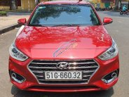 Bán nhanh chiếc Hyundai Accent AT, sản xuất 2018, màu đỏ, giá cạnh tranh giá 495 triệu tại Tp.HCM