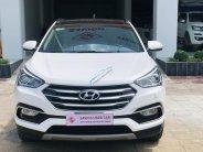 Cần bán nhanh chiếc Hyundai Santa Fe 2.2 năm sản xuất 2017, màu trắng, giá thấp giá 970 triệu tại Cần Thơ