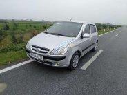 Cần bán Hyundai Getz đời 2008, màu bạc, nhập khẩu nguyên chiếc giá 148 triệu tại Thái Bình